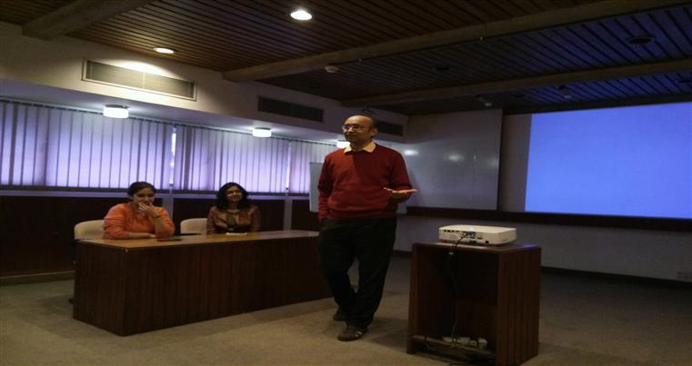 An active interaction with Dr. Rajesh Gokhale at National Institute of Immunology